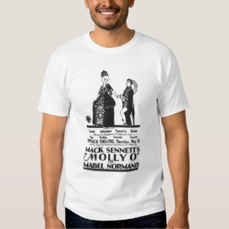 Mabel Normand 1922 vintage movie ad T-shirt