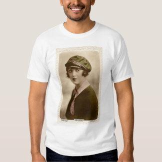 Mabel Normand vintage color portrait T-shirt