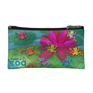 Mabell's Zoo Animals, The Frogs Makeup Bags