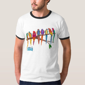 Mabell's Zoo Animals, The Parrots T-Shirt