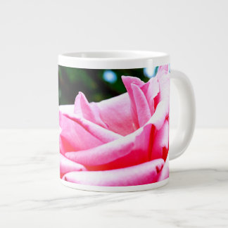 Mabel's Pink Rose Large Coffee Mug