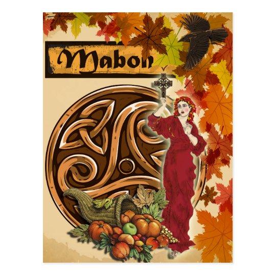 Mabon Pagan Fantasy Art Postcard