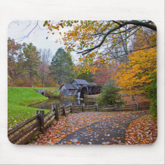Mabry Mill in Autumn Mouse Mat