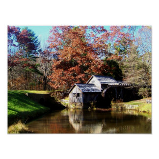 Mabry Mill Virginia Poster