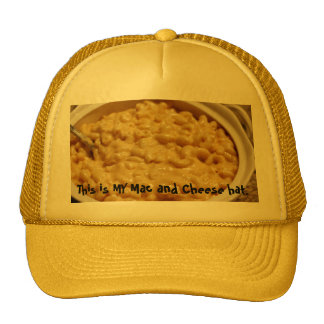 Mac and Cheese Hat. Cap