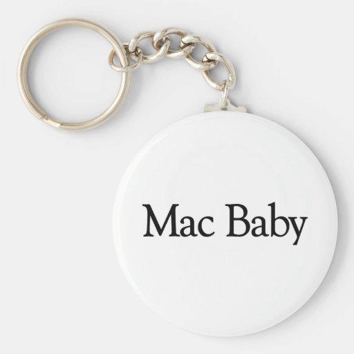 Mac Baby Basic Round Button Key Ring
