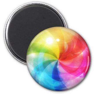 Mac Beachball 6 Cm Round Magnet