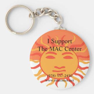 MAC Center Keychain