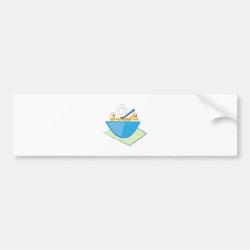 Mac & Cheese Bumper Sticker