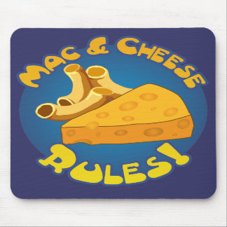 Mac & Cheese Rules Mousepad