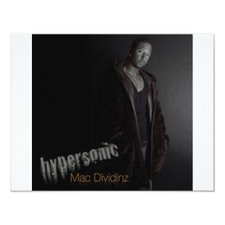 Mac Dividinz 11 Cm X 14 Cm Invitation Card