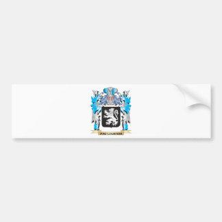 Mac-Lughaidh Coat of Arms - Family Crest Bumper Sticker
