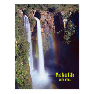 Mac Mac Falls South Africa Postcard