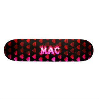 Mac pink fire Skatersollie skateboard