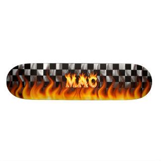 Mac real fire Skatersollie skateboard