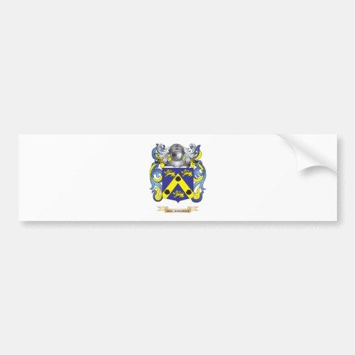 Mac-Sheumais Coat of Arms (Family Crest) Bumper Stickers