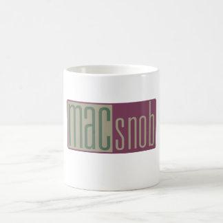 mac snob basic white mug