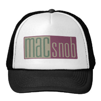 Mac Snob Mesh Hat