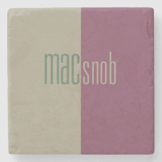 Mac Snob Coaster