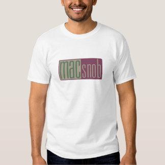 mac snob t shirt