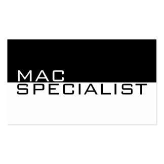 Mac Specialist Computer Laptop Repair Service Business Cards