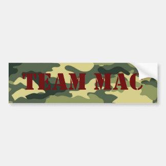 Mac Truckin' Car Bumper Sticker