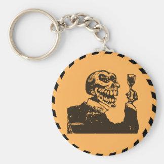 Macabre Dia de los Muertos - A Toast Key Chains