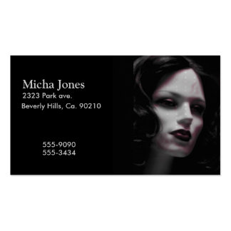Macabre Lady Mannequin Pack Of Standard Business Cards