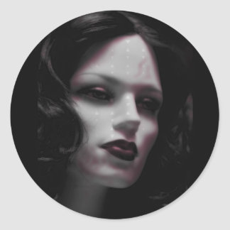 Macabre Lady Mannequin Stickers