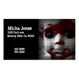 Macabre Living Dead Doll Pack Of Standard Business Cards