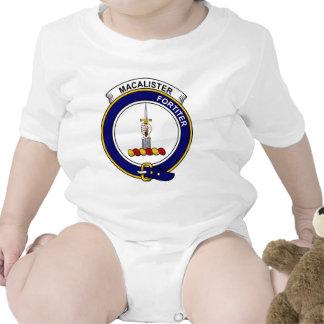 MacAlister Clan Badge Tshirt