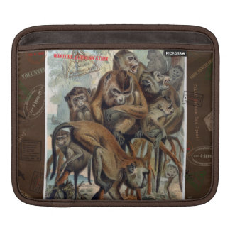 Macaques for Responsible Travel Sleeve For iPads