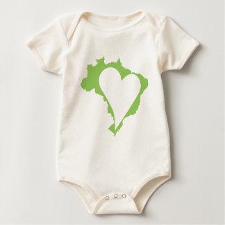 Macaquinho Eco Meu Brasil Baby Bodysuit
