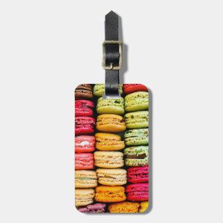 Macaron Luggage Tag