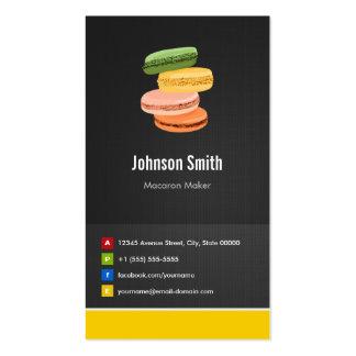 Macaron Maker - Cake Creative Innovative Pack Of Standard Business Cards
