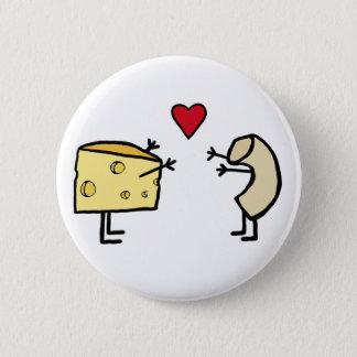 Macaroni and Cheese 6 Cm Round Badge