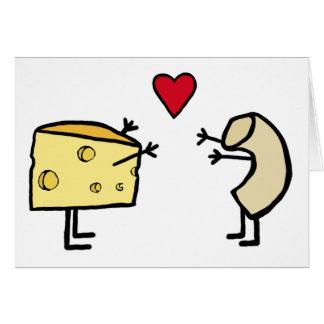 Macaroni and Cheese Greeting Card