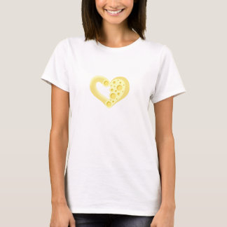 Macaroni And Cheese Heart T-Shirt