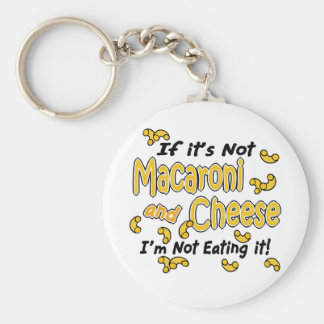 Macaroni and Cheese Key Ring