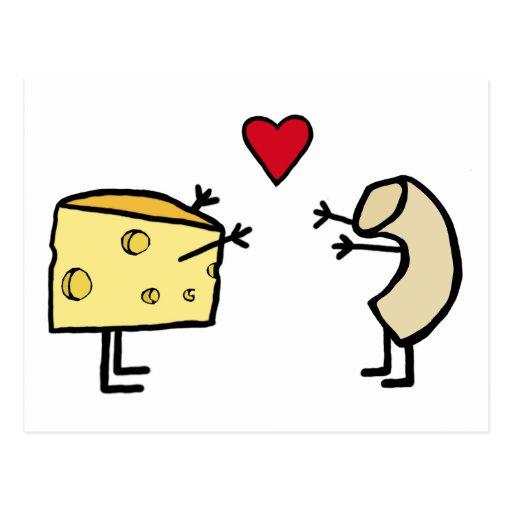 Macaroni and Cheese Post Card