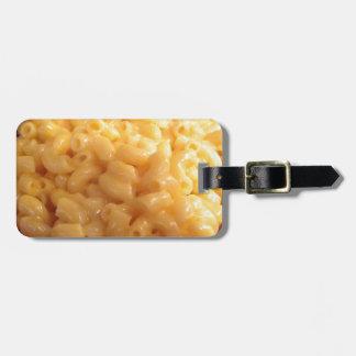 Macaroni and Cheese Travel Bag Tags