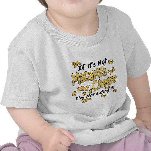 Macaroni and Cheese Tee Shirts
