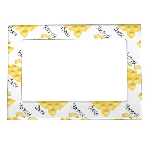 Macaroni Cheese Magnetic Photo Frames