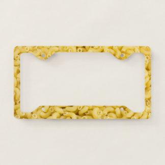 Macaroni Licence Plate Frame