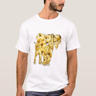 Macaroni Noodle Elephant T-Shirt