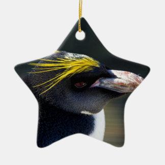 Macaroni Penguin Christmas Ornament