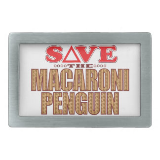 Macaroni Penguin Save Belt Buckles