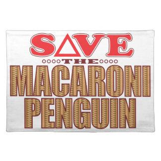 Macaroni Penguin Save Placemat
