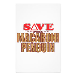 Macaroni Penguin Save Stationery