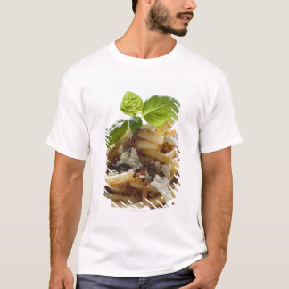 Macaroni with mince sauce and cheese T-Shirt